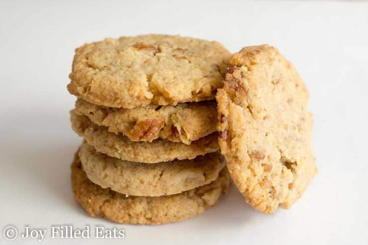Butter Pecan Cookies Low Carb Thm S Joy Filled Eats