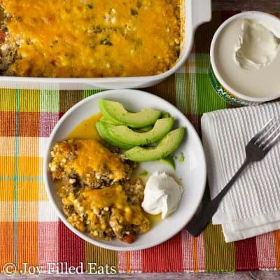 Easy Taco Casserole Recipe – Low Carb Keto Gluten Free