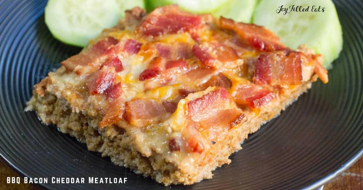 Bacon-Cheddar Meatloaf Recipe — Dishmaps