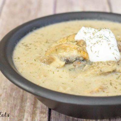 Homemade Cream of Mushroom Soup – Low Carb, Keto