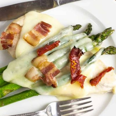 Chicken Asparagus Bake Sheet Pan Dinner