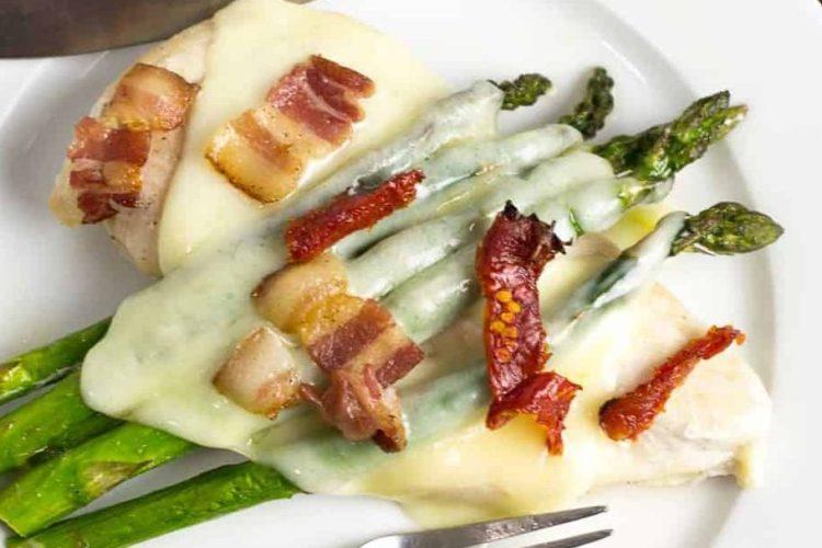 Chicken Asparagus Bake Sheet Pan Dinner