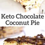 pinterest image for samoas coconut pie