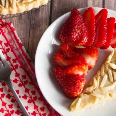 Easy Almond Tart – Low Carb, Grain & Sugar Free, THM S