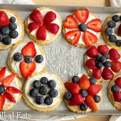 Red, White, & Blue Desserts – 20 Low Carb Keto & THM