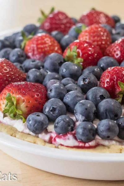 No-Bake Berry Cheesecake – Low Carb GF THM S