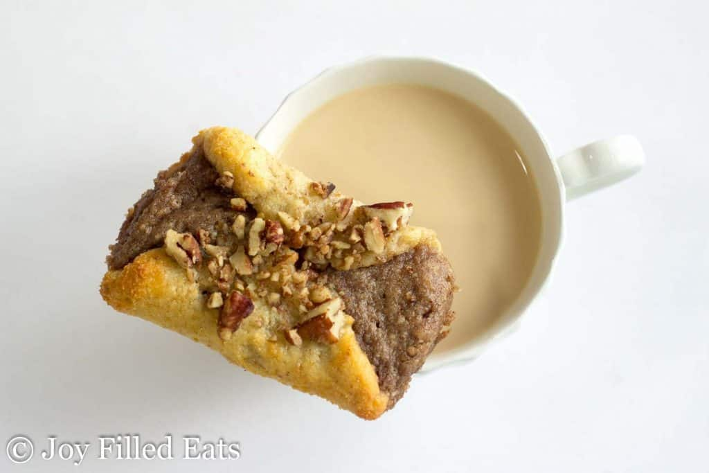 Pecan Danish - Low Carb, Grain Gluten Sugar Free, THM S