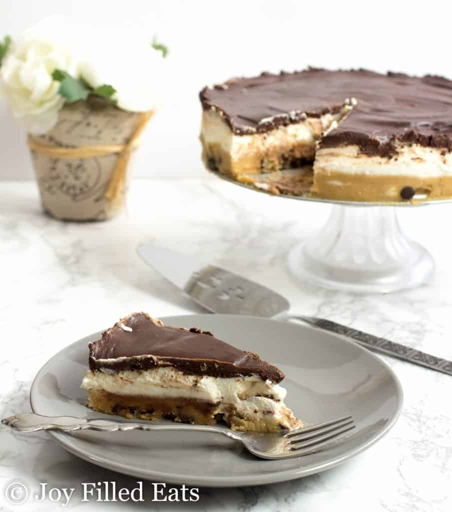 Cookie Dough Cheesecake No Bake Low Carb Keto Joy