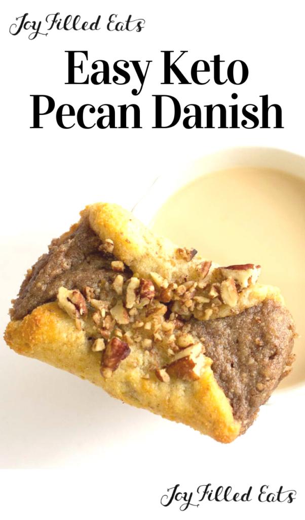 pinterest image for pecan danish