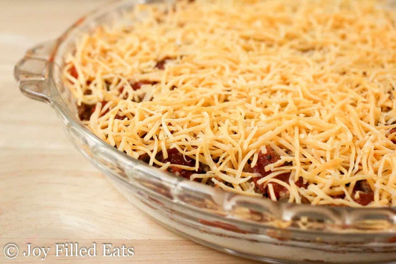 Easy Taco Dip With Meat Low Carb Keto Thm S Joy Filled Eats