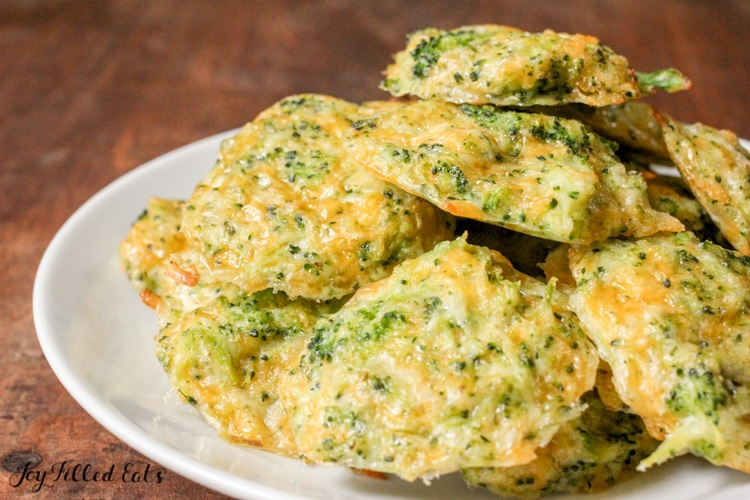 pile of Broccoli Cheese Nuggets