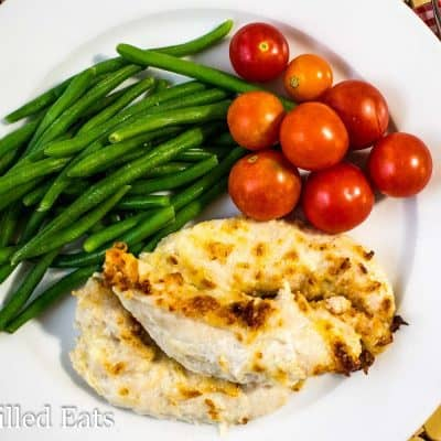 Five Minute Garlic Parmesan Chicken Tenders Recipe