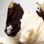 pinterest image for Keto Vanilla Ice Cream