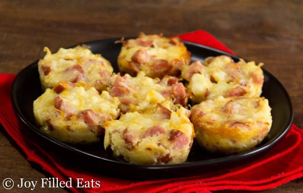 "Smokey ""Mac"" and Cheese Bites = Low Carb, Keto, Grain Gluten Free, THM S"