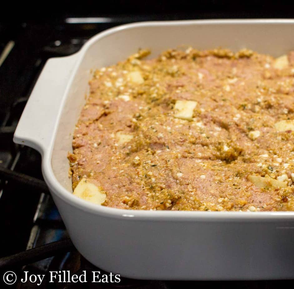 Easiest Italian Meatloaf Recipe - Low Carb, Grain Gluten Free, THM S, Keto