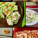 pinterest image for easy chicken casserole recipes