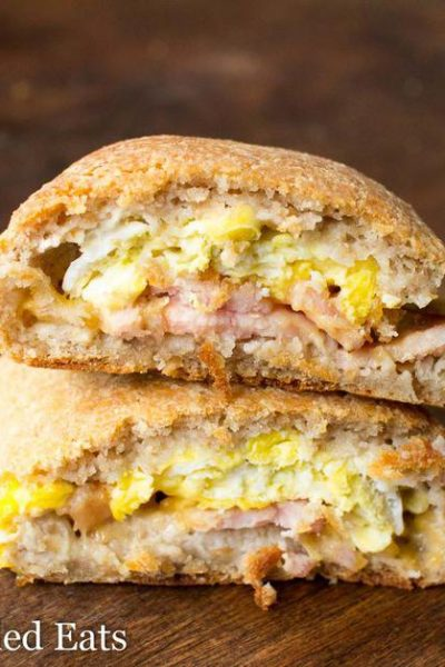 Keto Breakfast Pockets – Low Carb, Gluten Free, THM S