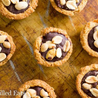 Peanut Butter Cup Cookies – Low Carb, Keto, THM S