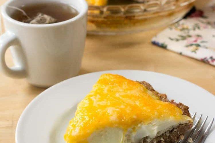Breakfast Egg & Sausage Pie – Low Carb, Keto GF, THM