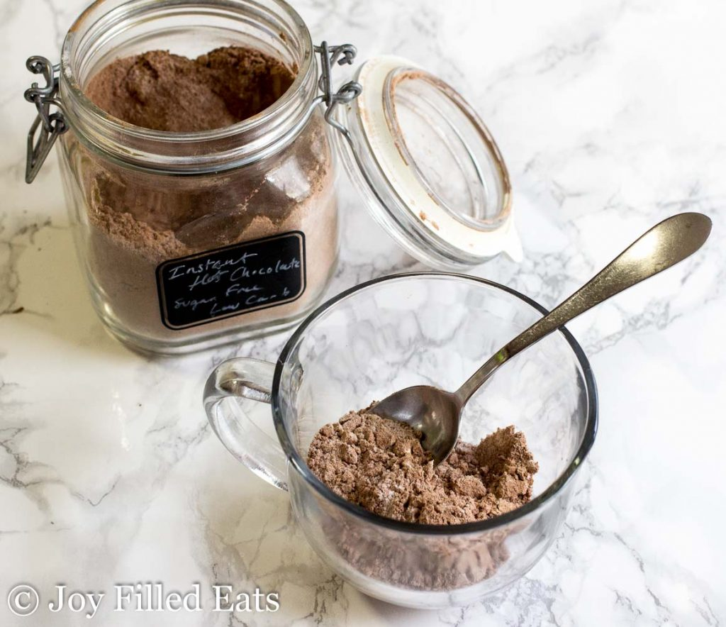 Homemade Mexican Hot Chocolate Mix