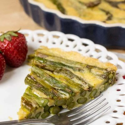 Asparagus Quiche – 3 Ingredients, Low Carb, Keto, Paleo, THM
