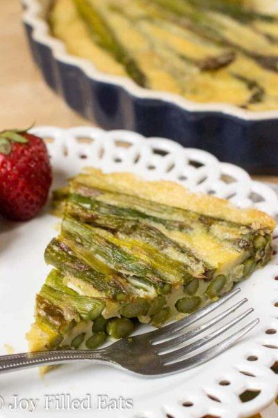 Asparagus Quiche – 3 Ingredients, Low Carb, Keto, Paleo, THM
