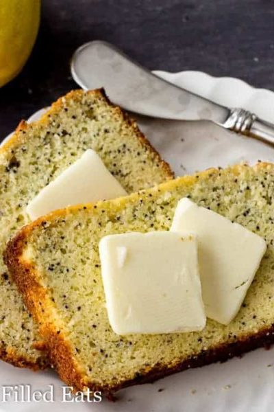 Lemon Poppy Seed Loaf Cake – Low Carb Keto THM S