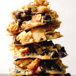 pinterest image for keto 5 minute magic cookies