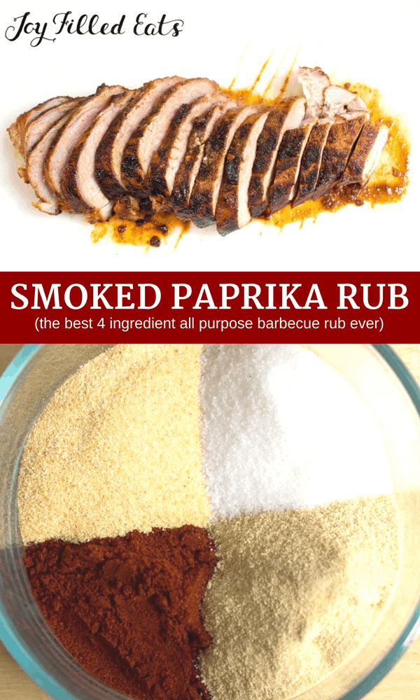pinterest image for smoked paprika rub