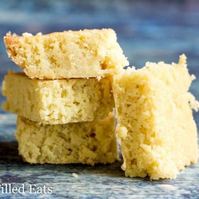White Chocolate Blondies Recipe – Low Carb Keto THM S