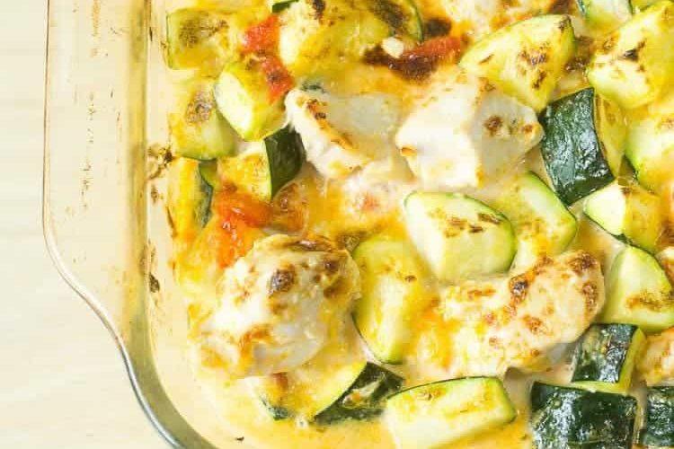 Chicken Zucchini Casserole – Paleo, Low Carb, Keto