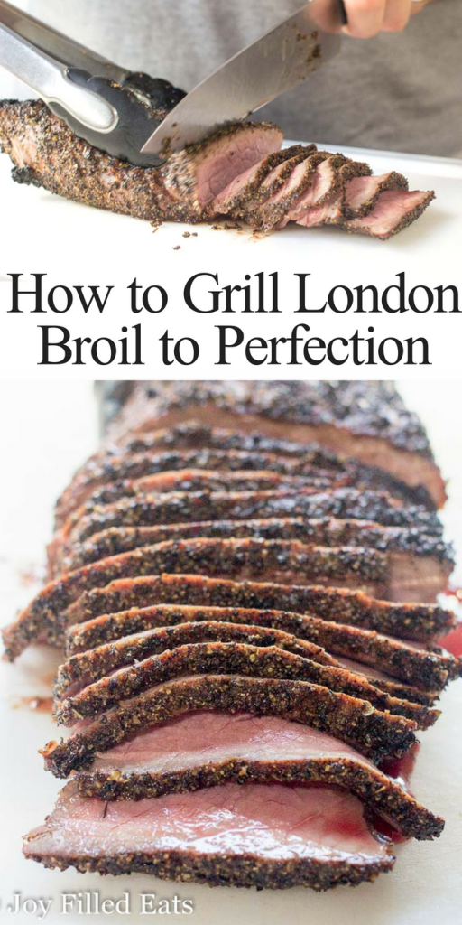 pinterest image for how to grill London broil