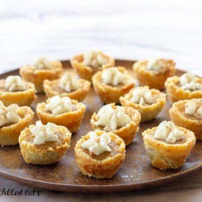 Mini Pumpkin Pies – Low Carb, Keto, Gluten & Sugar Free