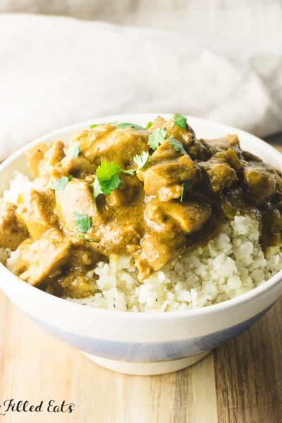 Coconut Chicken Curry – Low Carb, Keto, Gluten-Free