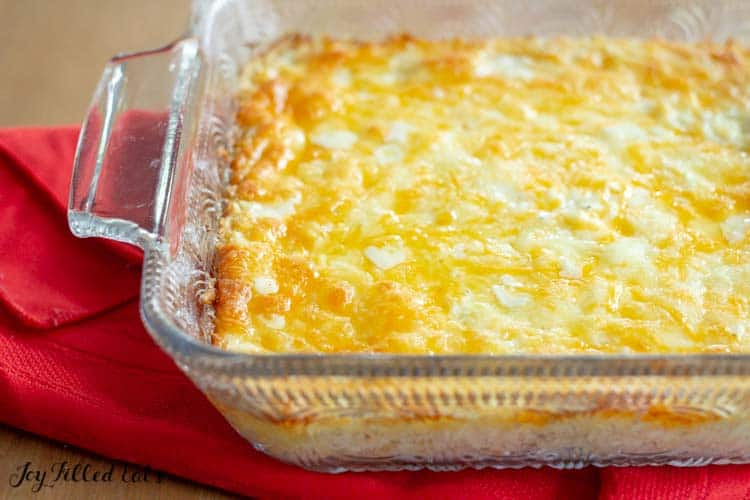 cheese covered cracker barrel hashbrown casserole