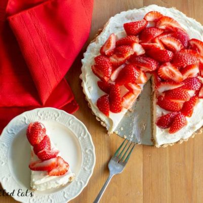 Strawberry Tart Recipe Easy No Bake Low Carb Keto