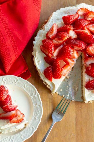Strawberry Tart Recipe Easy No Bake Low Carb Keto