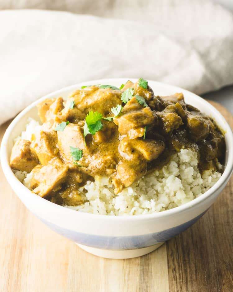 Keto Coconut Chicken Curry