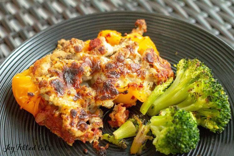 Stuffed Pepper Casserole – Low Carb, Keto, Gluten-Free