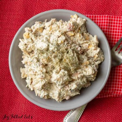Bacon Ranch Easy Keto Chicken Salad – Low Carb THM