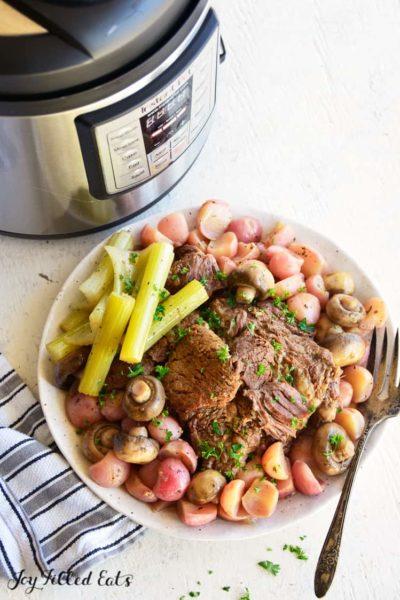 Instant Pot Pot Roast Recipe Low Carb Keto Easy