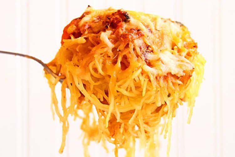 Baked Spaghetti Squash Recipe Low Carb
