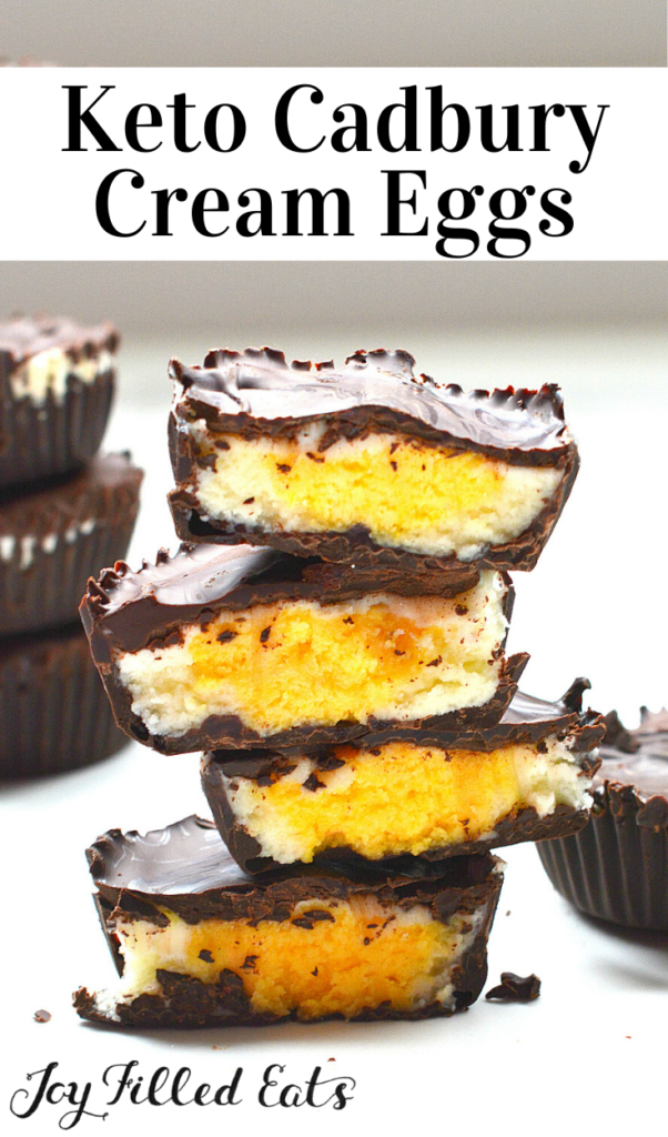 pinterest image for cadbury cream eggs