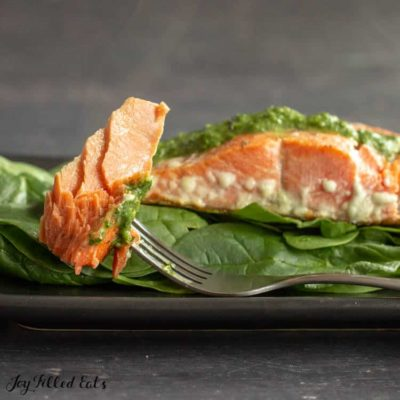 Pesto Salmon Recipe – Easy, Low Carb, Keto, THM S