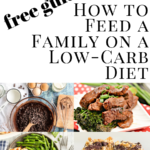 pinterest image for free guide on feeding the family