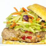 pinterest image for keto asian burgers