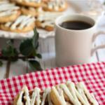 pinterest image for keto cinnamon roll cookies