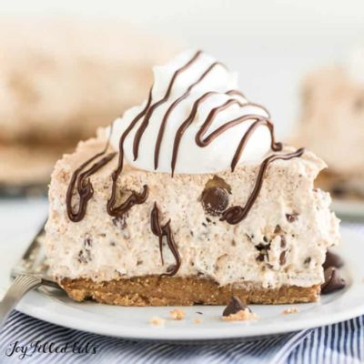 Cannoli Cheesecake Low Carb No-Bake Sugar-Free Keto
