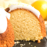 pinterest image for keto lemon cake