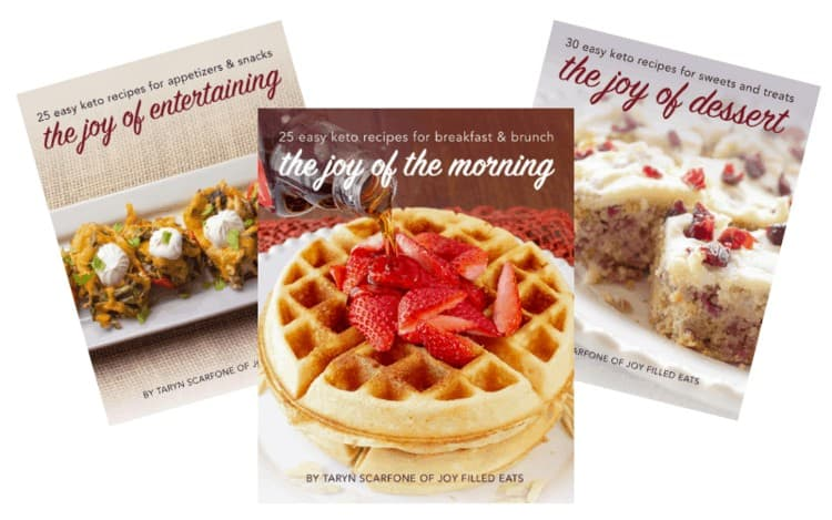 Joy Filled Eats ebook bundle of three cookbooks